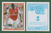 Arsenal Kolo Toure Ivory Coast 5